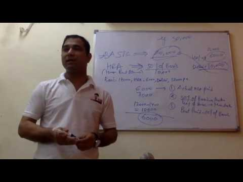 Session on creating salary structure