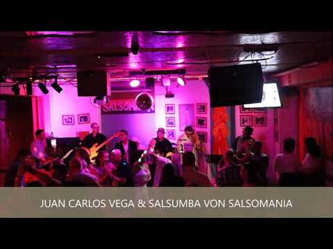 Juan Carlos Vega und Salsumba von Salsomania 2018