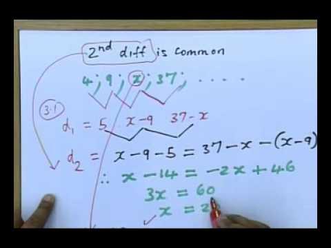 Matric Revision Maths Paper 1 November 2010 4 6 Q 3 Sequences