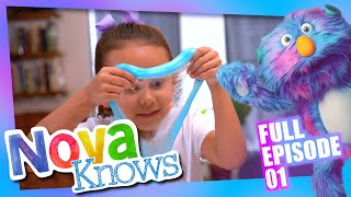 Nova Knows | Makes Slime, goes to the Houston Food Bank, and reads The Very Hungry Caterpillar.