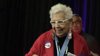 2017 ATALAM Conference - Pathfinder Award - Awardee Dr. Henrietta Mann