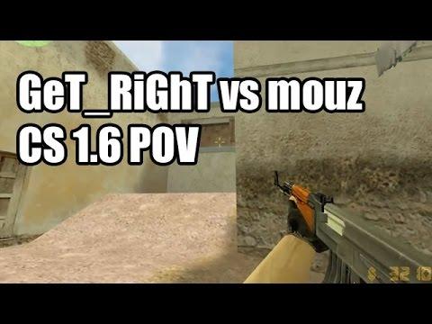 POV: GeT_RiGhT Vs. Mousesports @IEM 4 Fnatic CS 1.6 Demo