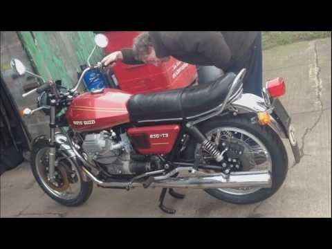 moto guzzi 850 t3 started after 37 years youtube. Black Bedroom Furniture Sets. Home Design Ideas