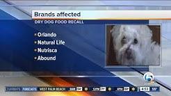 9 dry dog food brands recalled