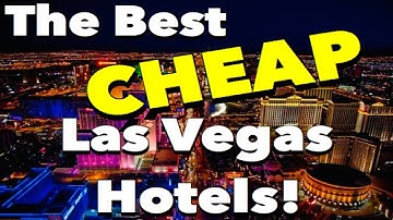 Top 10 Best CHEAP Las Vegas Hotels!!