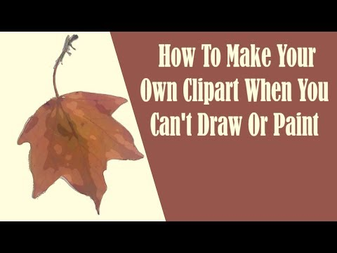 How To Make Digital Clip Art When You Can't Draw Or Paint