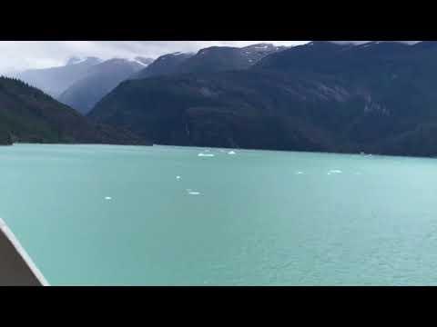 Sailing Alaska Inside Passage with Norwegian Sun