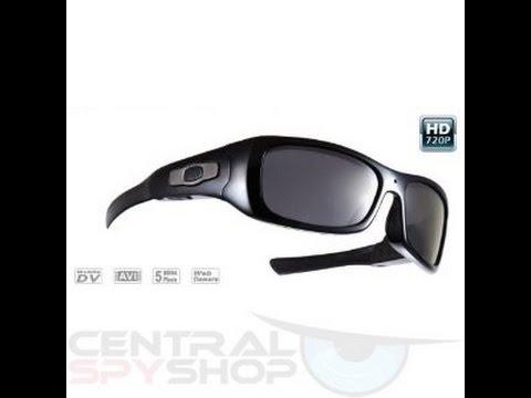 8Gb 720p HD Spy Glasses Camera Mp3 Player - Central Spy Shop