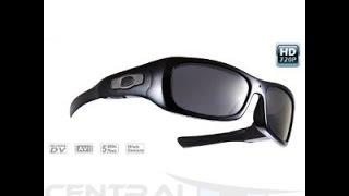 8Gb 720p HD Spy Glasses Camera Mp3 Player - Central Spy Shop