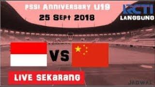 Indonesia U19 VS China U19 AFC U19 CUP 2018 LIVE