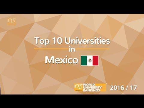 Top 10 Universities in Mexico 2016/17