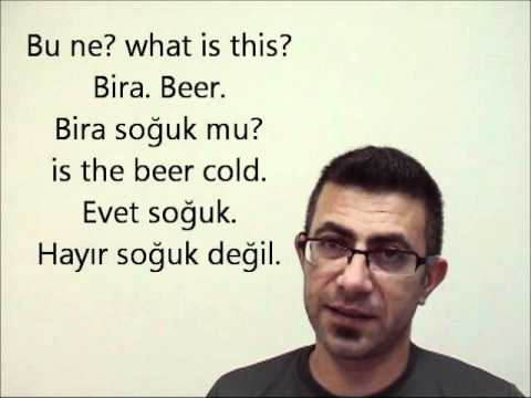 Online Turkish Lesson basic1 part 5