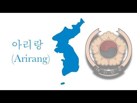 olympic and unofficial anthem of Korea: 아리랑(Arirang)