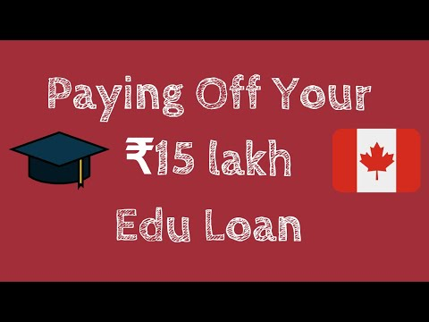 Paying-Off  ₹15 Lakh Education Loan To Study In Canada!! How Long Can It Take?