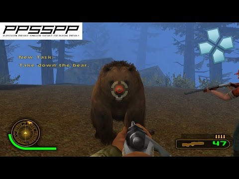 Cabela's Dangerous Hunts Challenge- PSP Gameplay (PPSSPP) 1080p