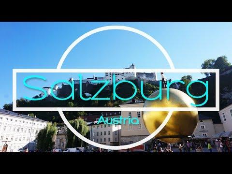 Attractions in Salzburg, Austria  (Eurotrip Part 4)
