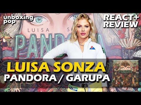 REAÇÃO  LUISA SONZA - PANDORA + VÍDEO DE GARUPA