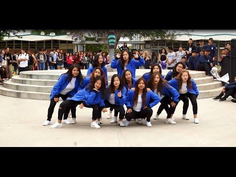 Santiago High School Genderfeud 2016 - Girl's League vs LXG: Girl's Dance