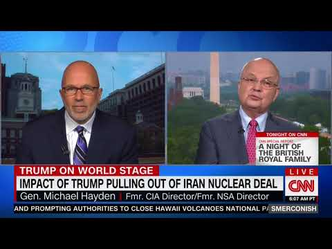 MICHAEL HAYDEN FULL EXPLOSIVE INTERVIEW WITH MICHAEL SMERCONISH (5/12/2018)