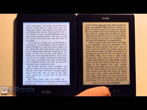 Kindle Paperwhite vs Basic $69 Kindle Comparison Review