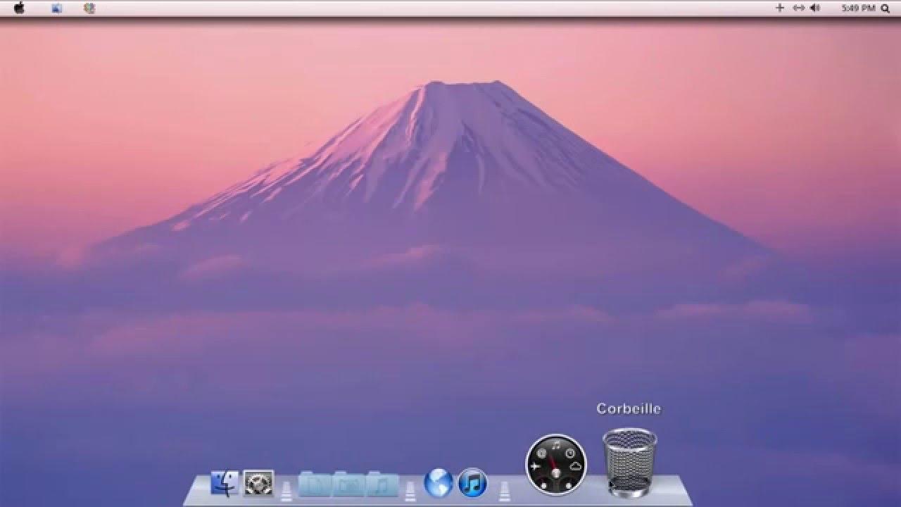 Mac OS X Lion theme Windows 7 (CustoPack Tools)