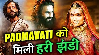 Padmavati Cleared By CBFC, To Release With New Title Padmavat | Deepika, Shahid, Ranveer