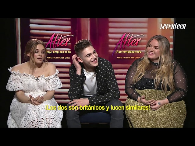 Entrevista de 'After' con Josephine Langford, Hero Fiennes-Tiffin, y Anna Todd