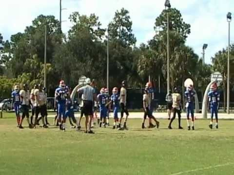 Varsity West Boca Gold Dragons vs West Boynton Gators