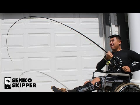 How strong is a Travel Fishing Rod from Amazon?