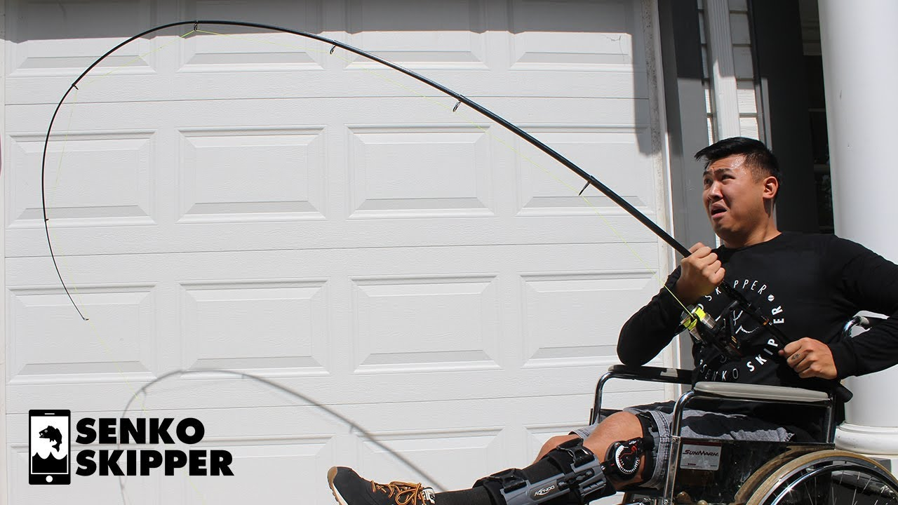 How strong is a travel fishing rod from amazon youtube for Good fishing poles