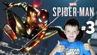 Spider-Man PS4 Walkthrough Gameplay Part 3 Aunt May