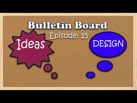 Episode 15: Simple steps to create BORDERS for Bulletin boards in school