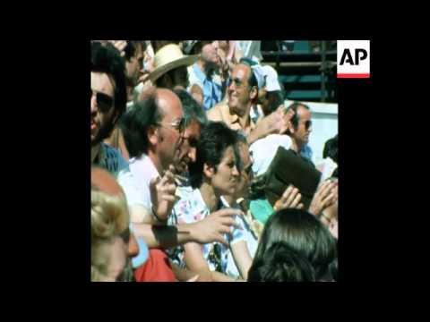 SYND 03/06/74 WOMEN'S SINGLES FINAL IN THE ITALIAN OPEN TENNIS CHAMPIONSHIP