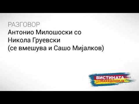 Разговор 02: Антонио Милошоски со Никола Груевски