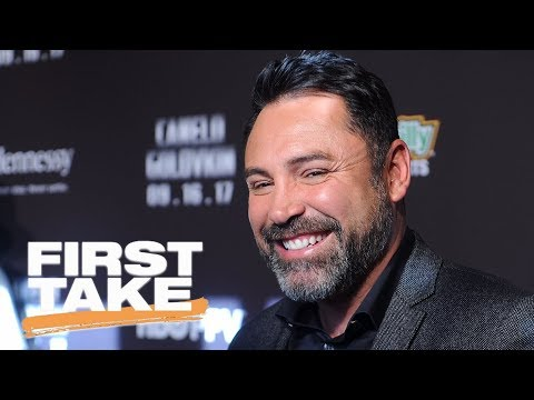 Oscar De La Hoya says Mayweather-McGregor fight was a 'fraud' | First Take | ESPN