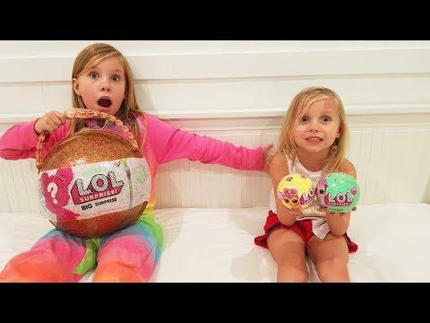 ИГРУШКИ ЛОЛ Распаковка LOL Dolls Unboxing Настоящий или подделка Николь маленький блогер lol dolls