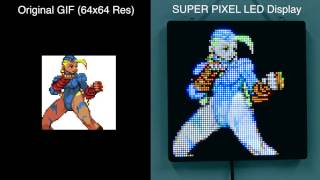 """Select Your Character"" : Fighting Game Characters on SUPER PIXEL"