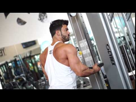 Reverse Grip Tricep Pushdowns
