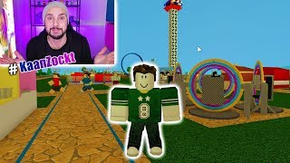 OWN FREE TIME PARK BUILD AT ROBLOX! With Fall Tower, Slides & Pizza-Bude - Theme Park Tycoon 2