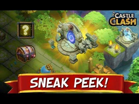 Castle Clash - New Portal / Resource Pt.1