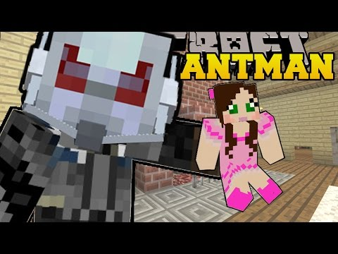 Minecraft: ANTMAN (SHRINK AND GROW YOURSELF & ANY MOBS!) Mod Showcase poster