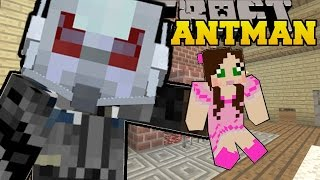 Minecraft: ANTMAN (SHRINK AND GROW YOURSELF & ANY MOBS!) Mod Showcase