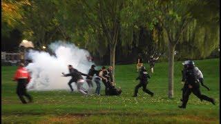 Les supporters Marseillais veulent en découdre, la police intervient à Strasbourg