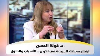 د. خولة الحسن - ارتفاع معدلات الجريمة في الأردن .. الأسباب والحلول
