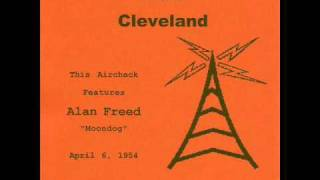 Alan Freed - Radio Aircheck - WJW Cleveland 1954