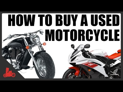 How To Buy A Used Motorcycle!