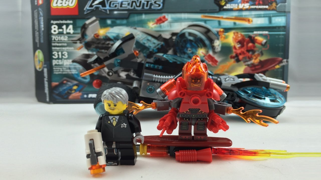 ULTRA AGENT INTERCEPTION D INFERNO 70162 LEGO Jouet EurekaKids