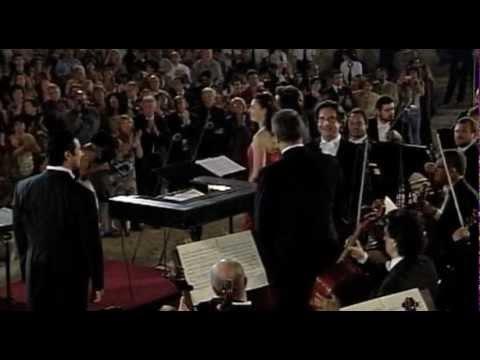 """El Djem 2005 - Muti dirige il """"Mefistofele"""" di Boito - Teatro Romano"""
