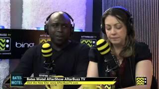 "Bates Motel After Show  Season 1 Episode 5 "" Ocean View""   AfterBuzz TV"