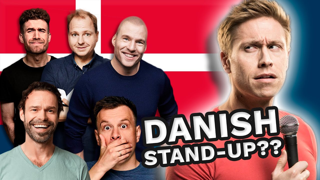 Russell Howard reacts to DANISH STAND-UP | Quiz-time with Simon Talbot